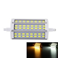 12W R7S Reflektory LED Do zabudowy 48 SMD 5730 1000-1200 lm Ciepła biel / Zimna biel Ściemniana AC 85-265 V 1 sztuka