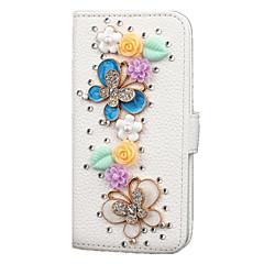 Na Samsung Galaxy S7 Edge Etui na karty / Portfel / Stras / Z podpórką / Flip Kılıf Futerał Kılıf Kreskówka 3D Skóra PU SamsungS7 edge /