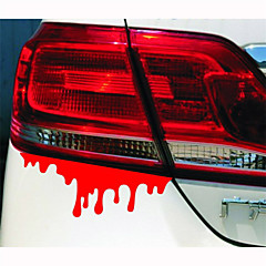 14*5CM Reflective bleeding Personality Car Stickers(1pcs)