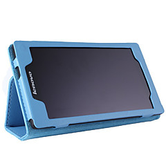 Původní lichi kožené pouzdro 7 palců Karta Lenovo tablet 2 a7-10 / a7-10f s podstavcem krytu skříňky