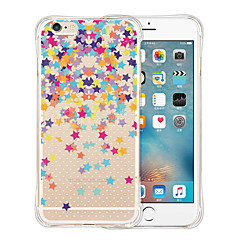 For iPhone 5 Case Transparent / Pattern Case Back Cover Case Cartoon Soft Silicone iPhone SE/5s/5