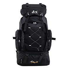 Outdoor Mountaineering Bags 60L Backpack Shoulder Bag Men Outdoor Hiking Camping Package Travel Backpack