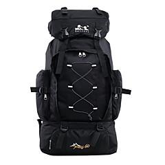 60 L Sırt Çantası Paketleri Laptop Paketleri Bagaj Travel Organizer sırt çantası Arka Çantaları Avlanma Balıkçılık Kamp & Yürüyüş Seyahat