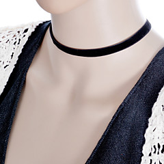 Necklace Choker Necklaces / Torque / Gothic Jewelry Jewelry Halloween / Wedding / Party / Daily / Casual Fashion Lace / Fabric Black 1pc