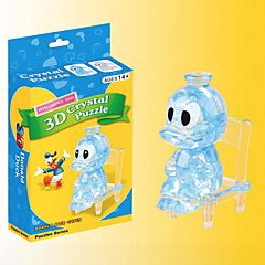 3 D Crystal Donald Duck Blocks Puzzle Diy Creative Educational Toys Small Children Toys