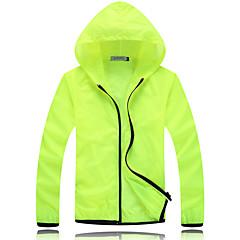 하이킹 탑스 남녀 공용 통기성 / 자외선 방지 봄 / 여름 / 가을 화이트 M / L / XL / XXL / XXXL 캠핑 & 하이킹 / 피싱 / 운동&피트니스 / 레이싱-스포츠