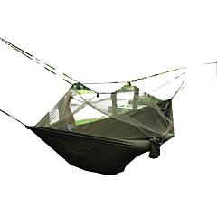 Respirabilité Séchage rapide Résistant à la poussière Résistant au vent Ultra léger (UL) Anti-Moustique Hamac OliveRandonnée Camping