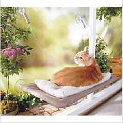 قط الأسرّة حيوانات أليفة الحصير والوسادات قابلة للطى شفاف قماش
