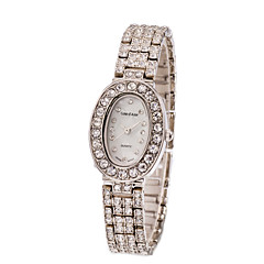 Women's Stainless Steel Silver Band Analog Bracelet Wrist Watch Jewelry for Wedding Party Cool Watches Unique Watches