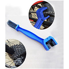 Bicycle Chain Brush Washing Device Mountain Bike Crankset Flywheel Cleaning(Ramdon Color)