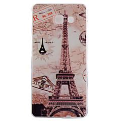 For Samsung Galaxy etui Mønster Etui Bagcover Etui Eiffeltårnet TPU for Samsung A7(2016) A5(2016) A3(2016) A7 A5 A3