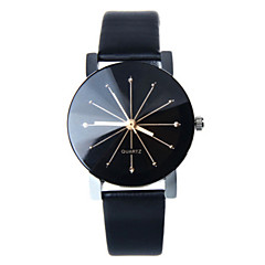 Women's Leather Band White Case Analog Quartz Wrist Watch Gift Cool Watches Unique Watches Fashion Watch