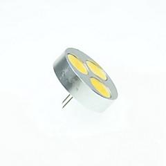 6W G4 LED-kohdevalaisimet MR11 3 COB 550-650 lm Lämmin valkoinen / Kylmä valkoinen / Neutraali valkoinen Himmennettävä DC 12 / AC 12 V