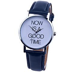 vintage klocka nu är en bra tid läder klocka kvinna klocka damer klockaman klocka unisex klocka