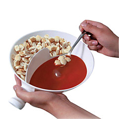 プラスチック便利なグルメクリスピーボウルの味は調味料のボウルを分離しました