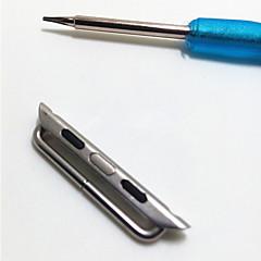 38mm 42mm connector voor apple watch band connector en schroevendraaier