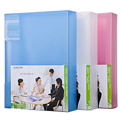 Multifunction Portable Files Folders & Filing for Office 80pages Random Colors