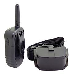 Hunder bark Collar / Hundehalsbånd til trening 300M / anti Bark / Fjernkontroll / Sjokk / Elektronisk/Elektrisk / LCD SortBlandet