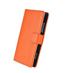 effen kleur patroon lederen full body tas met standaard en kaartsleuf voor Nokia Lumia 920