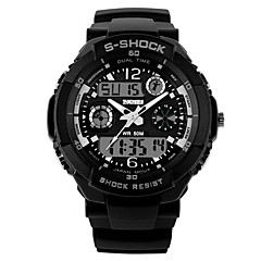 Men's  Sports Watch  Calendar / Chronograh / Water Resistant  / Noctilucent Wrist Watch