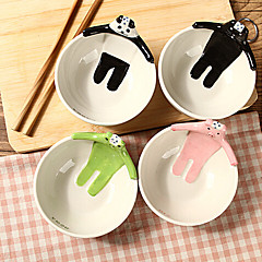 1PC 11*6.5CM Pure Hand-Painted Japanese Animal Bowl