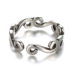 Band Rings Cuff Ring Vintage Silver Sterling Silver Silver Jewelry For Daily Casual 1pc