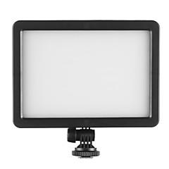 hersmay pc-k128c LED-ljus lampa för dv dslr kamera vedio videokamera fotografera 3200K-5600K