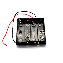 1.5v θήκη της μπαταρίας 4-AA για το μοντέλο αυτοκινήτου / αεροπλάνου