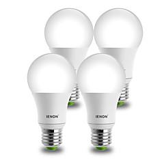 E26/E27 LED gömbbúrás izzók A60(A19) 1 COB 850-900 lm Meleg fehér Hideg fehér Dekoratív AC 100-240 V 4 db.