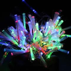 10m 100-ledede farverige lys 8-mode ledede string lampe (220V)