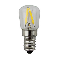 2W E14 Bombillas LED de Globo S14 2 COB 200 lm Blanco Cálido Regulable AC 100-240 V 1 pieza