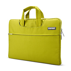 pofoko® 13 인치 옥스포드 패브릭 노트북 슬리브 녹색 / 청색