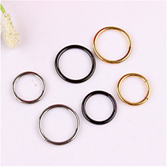 316L Stainless Steel Nose Rings & Studs Nose Ear Piercing Ring Body Jewelry Christmas Gifts