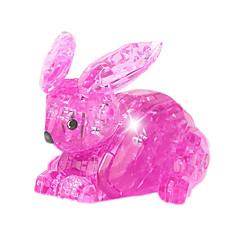 Bausteine Für Geschenk Bausteine Model & Building Toy Rabbit ABS Weiß Rosa Spielzeuge