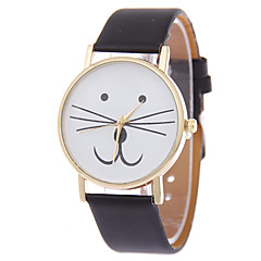 Kitty Watch Women Watches Cat Watch Wrist Watch Leather Watch Vintage Watch Jewelry Accessories Cool Watches Unique Watches