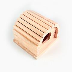 אוגר עץ בקתת עץ חתיכת צעצוע 1
