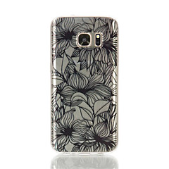 tpu Material Telefonkasten Blumenmuster für Galaxie s4 / s4mini / s6 / s6 Kante / Rand s6 plus / s7 / s7 Rand