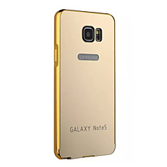 bling kovový rám z hliníkové slitiny zrcadlo akrylové plastový zadní kryt pouzdro pro Samsung poznámku 2/3/4/5