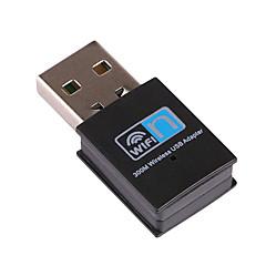 mini-récepteur wifi usb adaptateur sans fil 300mbps de rtl8192