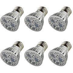 3W E26/E27 Spot LED A50 3 LED Haute Puissance 250 lm Blanc Chaud Décorative AC 100-240 AC 110-130 AC 85-265 V 6 pièces