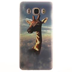 Mert Samsung Galaxy tok IMD Case Hátlap Case Állat Puha TPUTrend 3 / J7 (2016) / J5 (2016) / J5 / J1 (2016) / J1 Ace / J1 / Grand Prime /