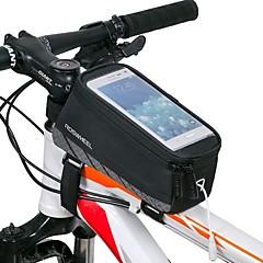ROSWHEEL® Fahrradtasche 1.5LFahrradrahmentasche Wasserdicht / Wasserdichter Verschluß / Stoßfest / tragbar Tasche für das RadNetz /