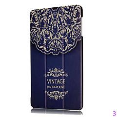 guld sten tekstur farvet tegning eller mønster pc folde hylster pu læderetui til Huawei MediaPad t2 10,0 pro tilfælde