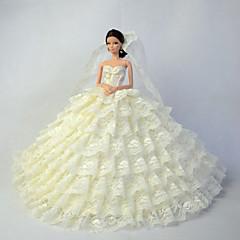 Bruiloft Jurken Voor Barbiepop Jurken Voor voor meisjes Speelgoedpop