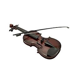 3 müzik aletleri oyuncak üstü çocuklar için plastik kahverengi simülasyon çocuk keman