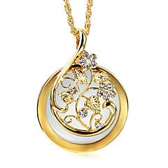 Necklace Imitation Diamond Pendant Necklaces Jewelry Wedding / Party / Daily / Casual / N/A RoundFashion / Vintage / Bohemia Style / Punk