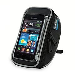 ROSWHEEL Fahrradtasche 1.4LFahrradlenkertasche Wasserdichter Reißverschluß tragbar Stoßfest Feuchtigkeitsundurchlässig Tasche für das Rad