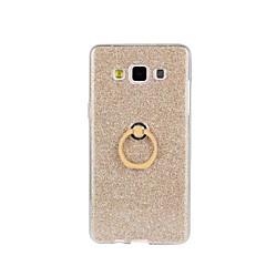 Voor Samsung Galaxy hoesje Schokbestendig / met standaard hoesje Achterkantje hoesje Glitterglans Zacht TPU Samsung A8 / A7 / A5 / A3