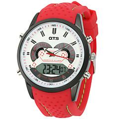 Pánské Sportovní hodinky / Módní hodinky / Náramkové hodinky Digitální / Japonské QuartzLCD / Kalendář / Voděodolné / Hodinky s dvojitým