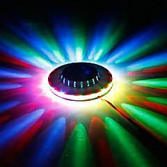 1pc éclairage LED KTV mini-soucoupe volante nuit lumière laser